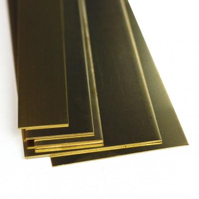 K&S Brass Strip 0.25 X 2