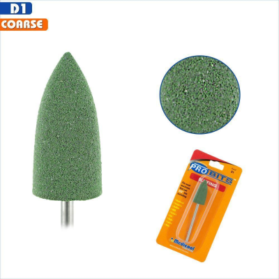 Silicone Buffing Bit - Green (Coarse)
