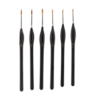 Modelcraft Fine Quality Synthetic Brush Set x6