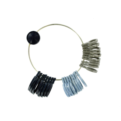 Jeweltool Plastic Ring Sizers (UK A-Z)