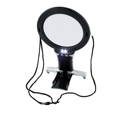Lightcraft Dual Purpose Neck & Desk Magnifier