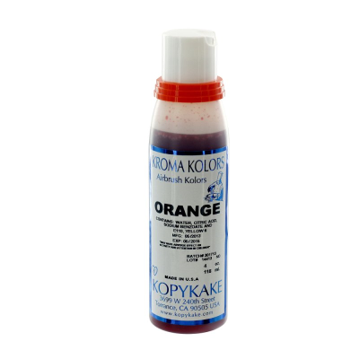 Kopykake Airbrush Colour - Orange (118ml/4oz)