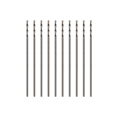 Modelcraft Precision HSS Drill Bits 0.5mm (Pack of 10)