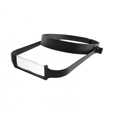 Modelcraft Slimline Headband Magnifier with 4 Lenses