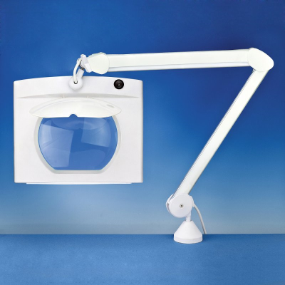 Lightcraft Rectangular Long Reach Magnifier Lamp