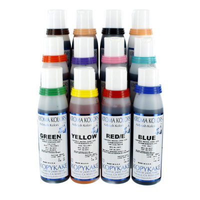 Kopykake 12 Pce Airbrush Kroma Kolors Set (114ml)