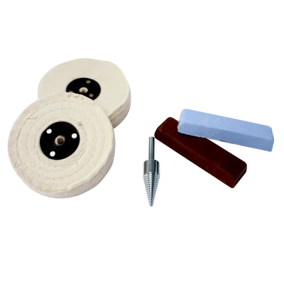 Policraft Non-Ferrous (Soft) Metal Polishing Kit