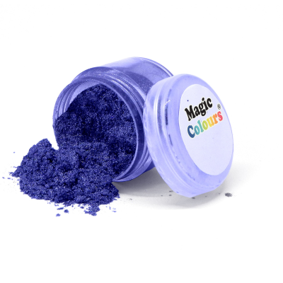 Magic Colours Lustre Dust – Indigo Spark (7ml)