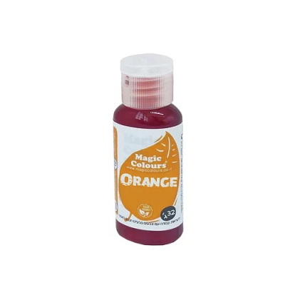 Magic Colours Natural Food Colour - Orange (32g)