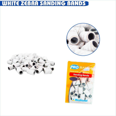 Sanding Bands - Medium (Box of 100)