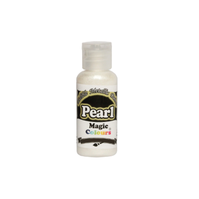 Magic Colours Metallic Paint - Pearl (32g)