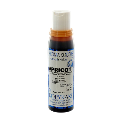 Kopykake Airbrush Colour - Apricot (118ml/4oz)