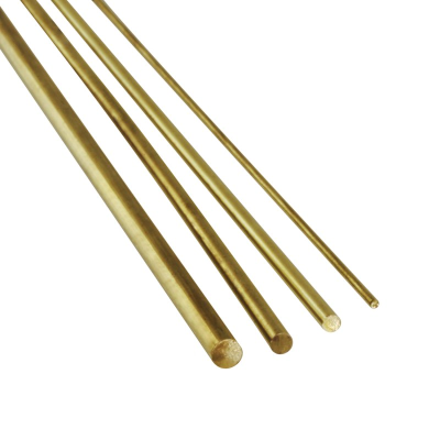Solid Brass Rod 1/8