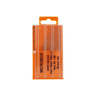 Jeweltool 20 Pce Microbox Drill (61 - 80mm)