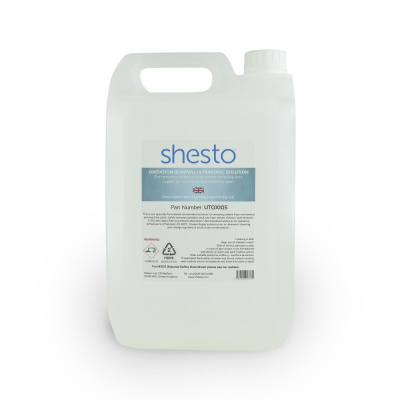 Shesto Ultrasonic Cleaner Solution For Oxidation and Rust Removal (5 Litre)