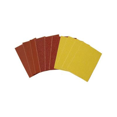 Minitool 32401 Assorted Abrasive Sheets x 10