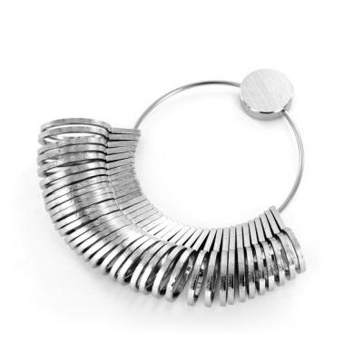 Jeweltool Chrome Plated Ring Sizes - UK