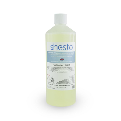 Shesto Ultrasonic Cleaner Solution For Oxidation and Rust Removal (1 Litre)