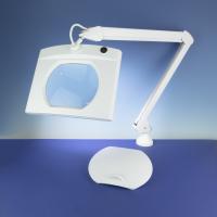Lightcraft LED Rectangular Magnifier Lamp