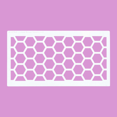 Cakecraft Honeycombe Pattern Stencil x 2
