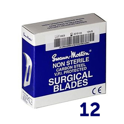 Swann Morton Scalpel Blades No.12 x 100