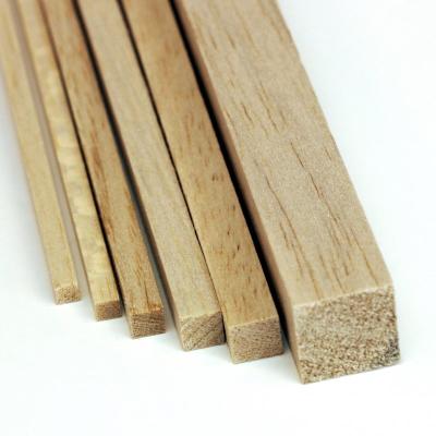 """Balsa Strip (3/4 x 3/4 x 36"""")"""