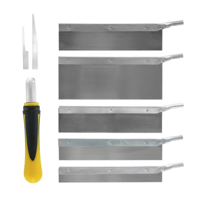 Modelcraft Saw Set (8 Piece Set)