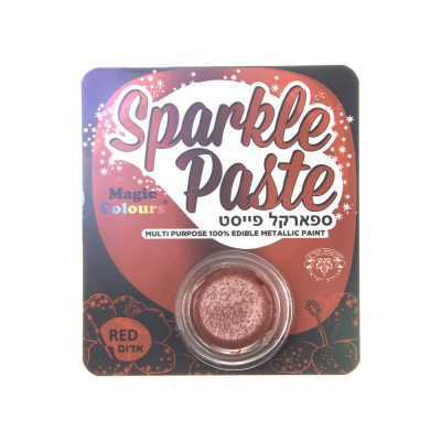 Magic Colours Sparkle Paste Red (8g)