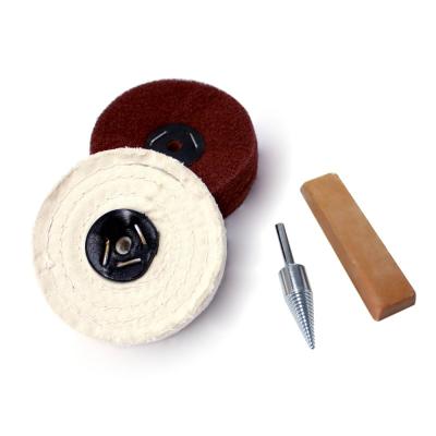 Policraft Hard & Soft Wood Polishing Kit