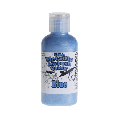 Magic Colours Metallic Airbrush Colour – Blue (55ml)