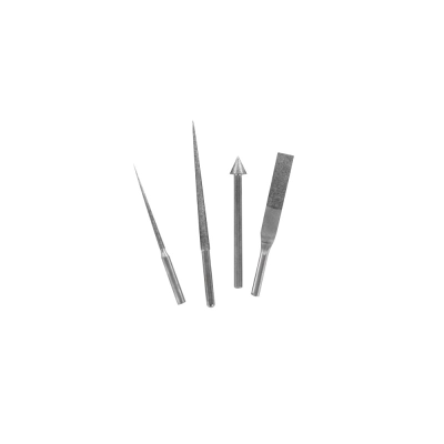 Modelcraft 4 Pce Diamond Reamer & File Accessory Set