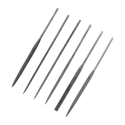 Jeweltool 6 Pce Needle Rasp Files (140mm)