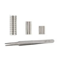 Modelcraft 100pc Magnet & Tweezer Set