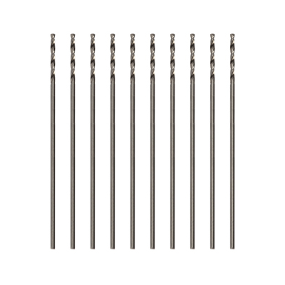 Modelcraft Precision HSS Drill Bits 0.8mm (Pack of 10)