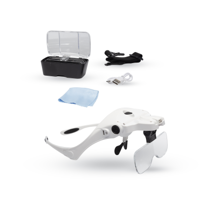 Lightcraft Magnifier Spectacles & Headband