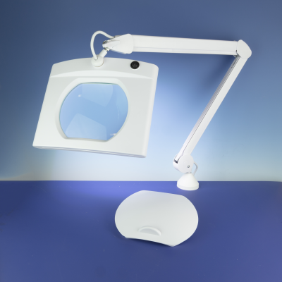 Lightcraft LED Rectangular Magnifier Lamp