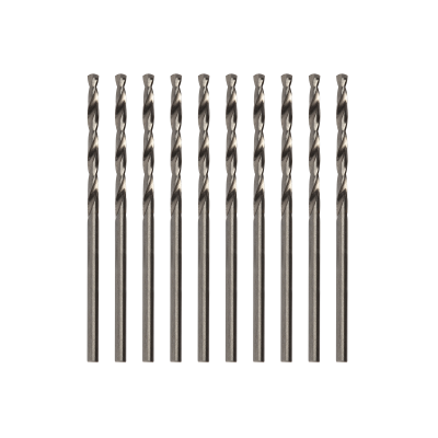 Modelcraft Precision HSS Drill Bits 1.0mm (Pack of 10)