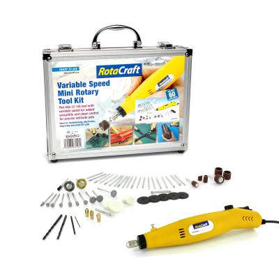 Rotacraft RC18EUK Variable Speed Rotary Tool Kit