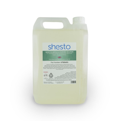 Shesto Ultrasonic Cleaner Solution For Brass, Copper and Aluminium (5 Litre)