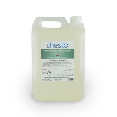Shesto Ultrasonic Cleaner Solution For Brass, Copper and Aluminium (5 Litre)
