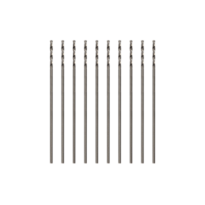 Modelcraft Precision HSS Drill Bits 0.4mm (Pack of 10)