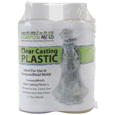 Composi-Mold Clear Casting Plastic 16 fl oz (473) kit