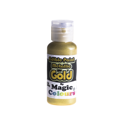 Magic Colours Metallic Paint - Gold (32g)