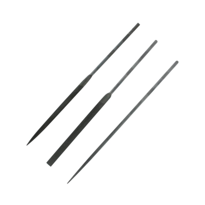 Modelcraft 3 Pce Precision Needle File Set Swiss Style (160mm)