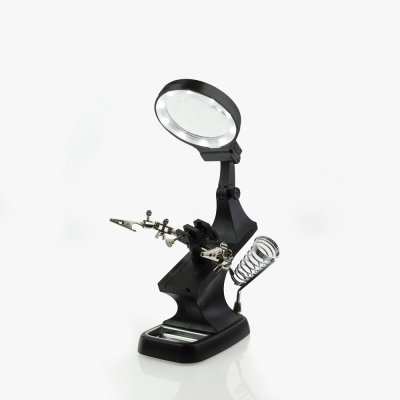Modelcraft Helping Hands & LED Magnifier Workstation