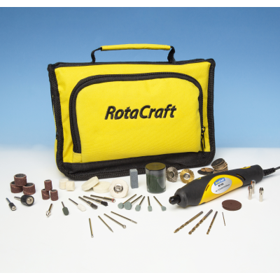 Rotacraft RC18X Variable Speed Mini Rotary Tool Kit