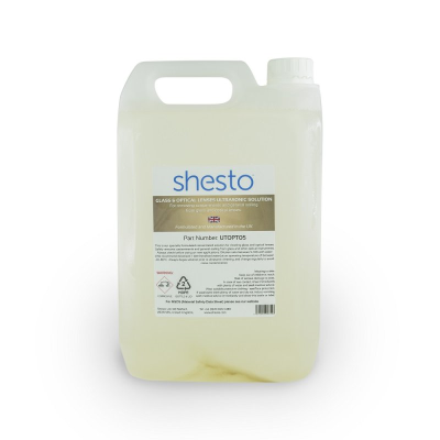 Shesto Ultrasonic Cleaner Solution For Glass and Optical Lenses (5 Litre)