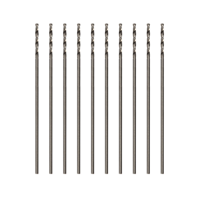 Modelcraft Precision HSS Drill Bits 0.9mm (Pack of 10)
