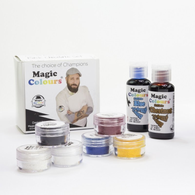 Magic Colours Chocolate Set by Daniel Dieguez