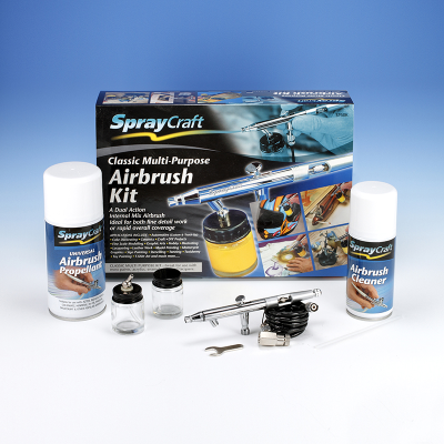Spraycraft SP50K Classic Multi-Purpose Airbrush Kit